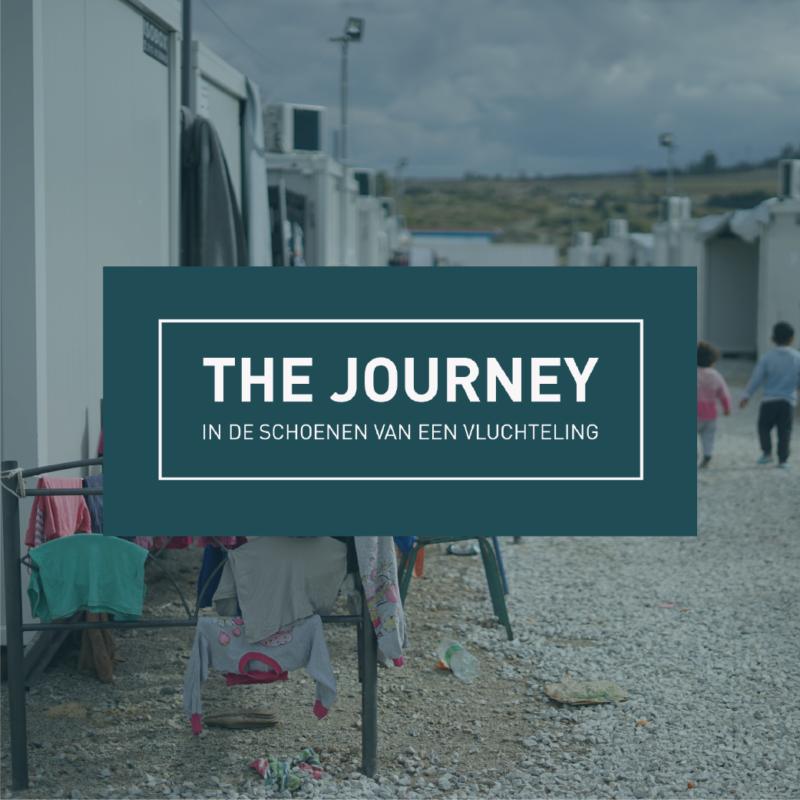 In de schoenen van een vluchteling